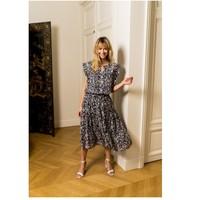 textil Mujer Tops / Blusas Fashion brands CK08138-MARINE Marino