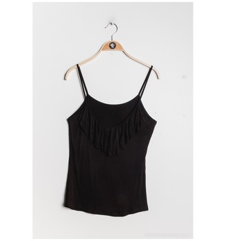 textil Mujer Tops / Blusas Fashion brands D852-BLACK Negro