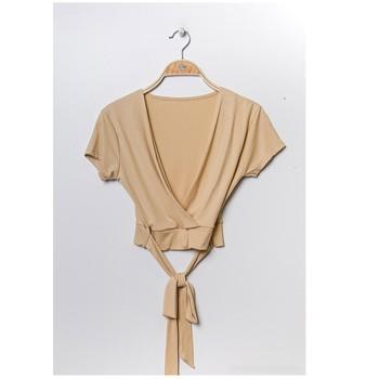 textil Mujer Tops / Blusas Fashion brands FR029T-BEIGE Beige