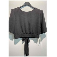 textil Mujer Tops / Blusas Fashion brands 5172-BLACK Negro