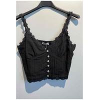 textil Mujer Tops / Blusas Fashion brands 6133-BLACK Negro