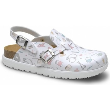 Zapatos Mujer Zuecos (Clogs) Feliz Caminar Zueco Laboral BIO VEGA - Multicolor