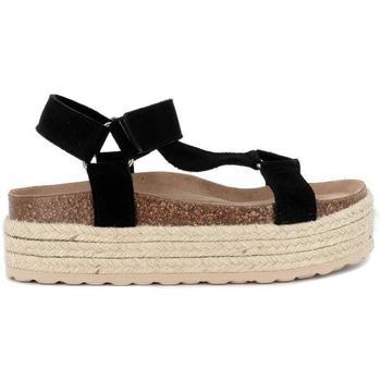 Zapatos Mujer Sandalias Top3 21654 Negro