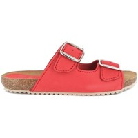 Zapatos Mujer Zuecos (Mules) Blue Sandal 896 Rojo