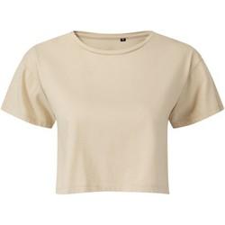 textil Mujer Tops / Blusas Tridri TR019 Beige