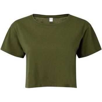 textil Mujer Tops / Blusas Tridri TR019 Verde