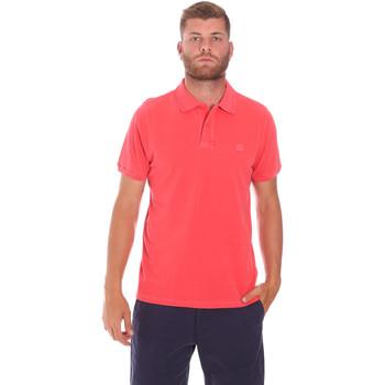 textil Hombre Polos manga corta Sundek M787PLPQ1TC Rojo