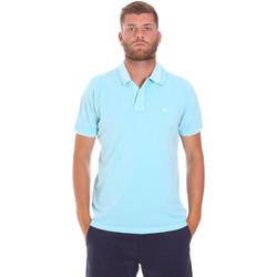 textil Hombre Polos manga corta Sundek M787PLPQ1TC Azul