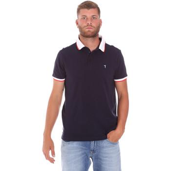 textil Hombre Polos manga corta Trussardi 52T00491-1T003600 Azul