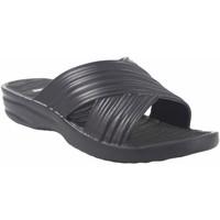 Zapatos Mujer Zuecos (Mules) Kelara Playa señora  k02017 negro Negro