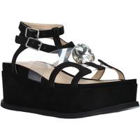 Zapatos Mujer Sandalias Apepazza S0CHER01/DIA Negro