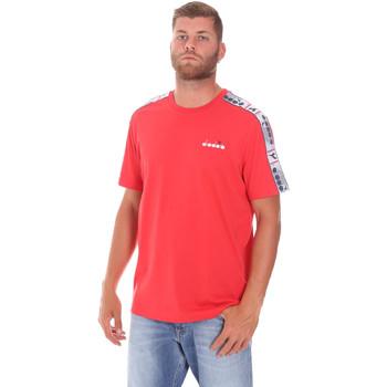 textil Hombre Camisetas manga corta Diadora 502176085 Rojo