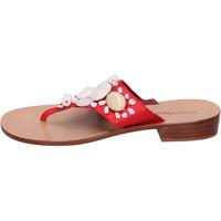 Zapatos Mujer Chanclas Eddy Daniele AW374 Rojo