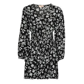textil Mujer Vestidos cortos Moony Mood PAPIS Negro / Blanco