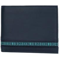 Bolsos Hombre Cartera Bikkembergs E2BPME2D3043 AZUL