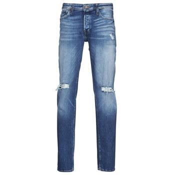textil Hombre Vaqueros slim Jack & Jones JJITIM JJORIGINAL Azul / Medium