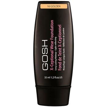 Belleza Mujer Base de maquillaje Gosh X-ceptional Wear Foundation Long Lasting Makeup 16-golden