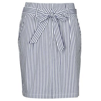 textil Mujer Faldas Vero Moda VMEVA Azul / Blanco
