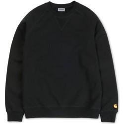 textil Hombre Sudaderas Carhartt Chase Sweatshirt Black Negro