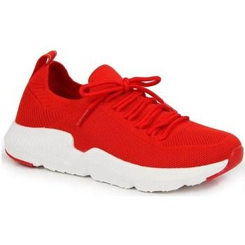 Zapatos Mujer Zapatillas bajas American Club INT1099C Rojos