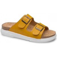 Zapatos Mujer Zuecos (Mules) Feliz Caminar SANDALIA BELONA - Amarillo