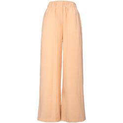 textil Mujer Pantalones fluidos Alysi 101137 BEIGE