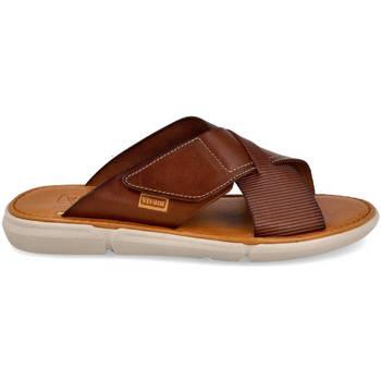 Zapatos Hombre Zuecos (Mules) Vivant SA-19186 CUERO