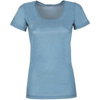 textil Mujer Camisetas manga corta Rock Experience T-shirt Femme  Offsets Cams SS bleu clair