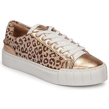 Zapatos Mujer Zapatillas bajas Vanessa Wu LEVANTER Leopardo