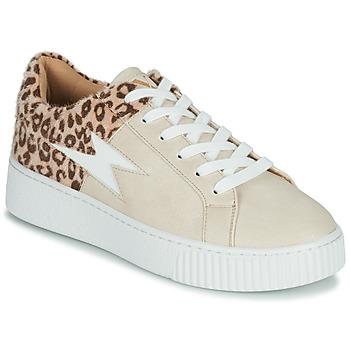 Zapatos Mujer Zapatillas bajas Vanessa Wu VENDAVEL Beige / Leopardo