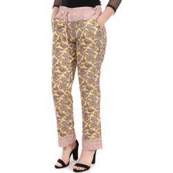 textil Mujer Pantalones chinos Scotch & Soda  Beige