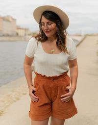 textil Mujer Tops / Blusas Céleste ERABLE Crudo