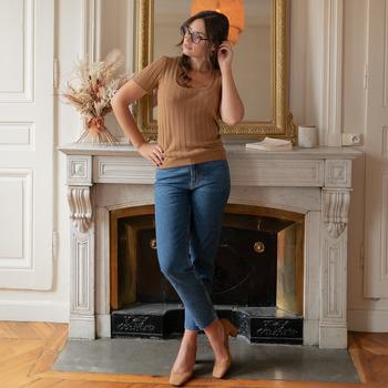 textil Mujer Tops / Blusas Céleste ERABLE Camel