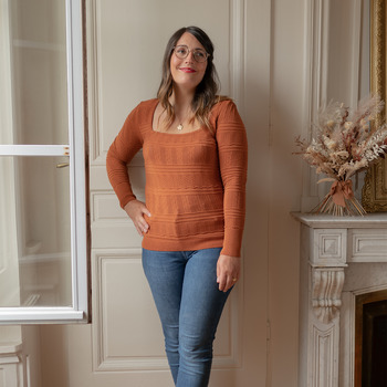 textil Mujer Jerséis Céleste NYSSA Rojizo
