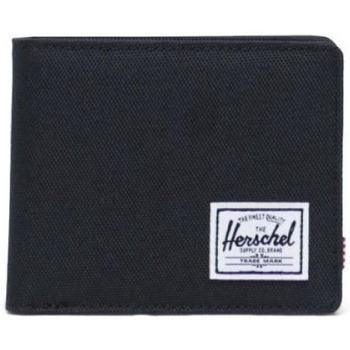 Bolsos Hombre Cartera Herschel Wallet Roy Coin Black Negro