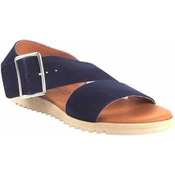 Zapatos Mujer Sandalias Eva Frutos Sandalia señora  1218 azul Azul