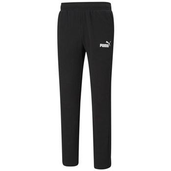 textil Hombre Pantalones de chándal Puma Ess Logo TR OP Negros