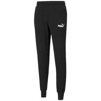 textil Hombre Pantalones de chándal Puma Ess Logo TR CL Negros