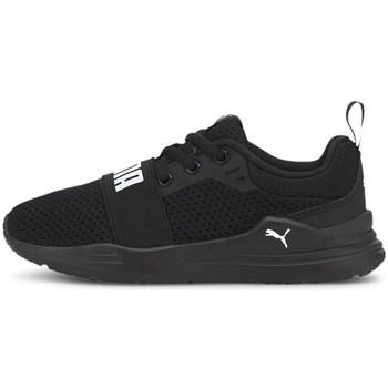 Zapatos Niños Zapatillas bajas Puma Wired Run PS Negros