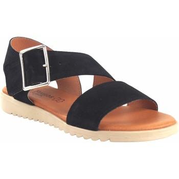 Zapatos Mujer Sandalias Eva Frutos Sandalia señora  1218 negro Negro