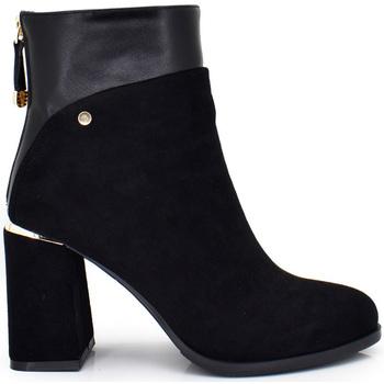 Zapatos Mujer Botines Exé Shoes BOTIN TIPO ANTE BLACK XJ1130-CR248 Color Negro