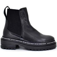 Zapatos Mujer Botines Exé Shoes BOTINES PLAFAFORMA CON DETALLE LETRAS 342K Color Negro