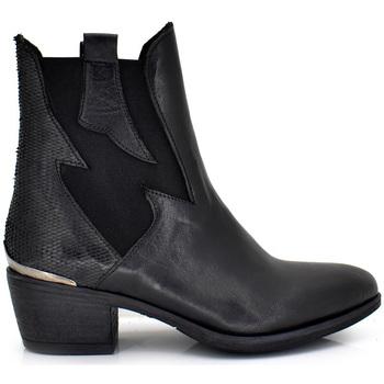 Zapatos Mujer Botines Exé Shoes BOTINES ROCK BLACK BELA-422 Color Negro
