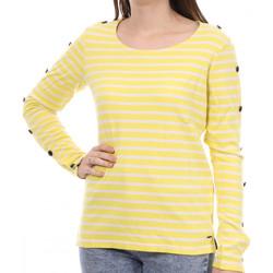 textil Mujer Camisetas manga larga Scotch & Soda  Amarillo