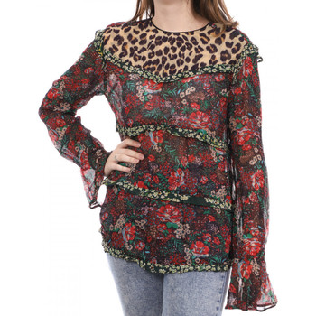 textil Mujer Camisetas manga larga Scotch & Soda  Rojo