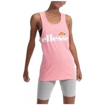 textil Mujer Camisetas sin mangas Ellesse CAMISETA TIRANTES  SGS04485 Rosa