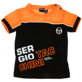 textil Hombre Camisetas manga corta Sergio Tacchini  Negro