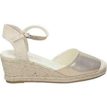Zapatos Mujer Alpargatas Pink Desert SANDALIAS  PDV18002 SEÑORA GOLD Beige