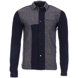 textil Hombre Camisas manga larga Scotch & Soda  Gris