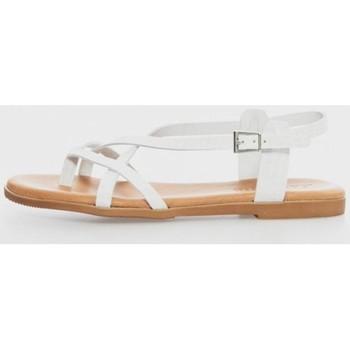 Zapatos Mujer Sandalias Kamome 4802 Blanco